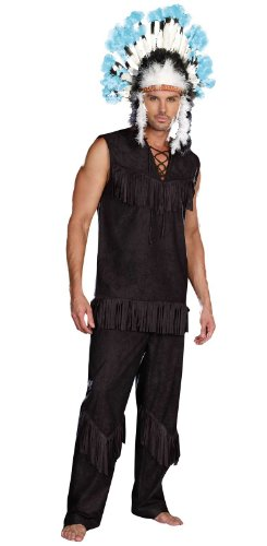 tive American Adult Costume X-Large (Adult Indian Chief Kostüme)