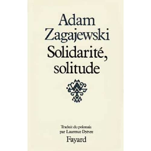 Solidarité, solitude