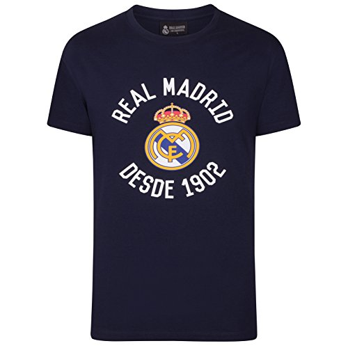 Real Madrid - Camiseta Oficial Hombre - Serigrafiada