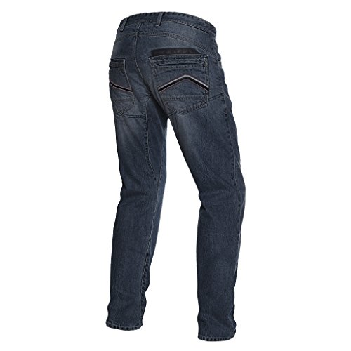 Dainese 1755089_T46_42 Pantalones para moto, Azul (Denim Dark), 42