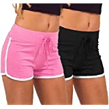 fasla Women's Cotton Shorts Multicolor