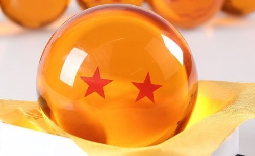 Dragon Ball Z - DragonBall Bola de Cristal - 7cm - 2 Estrellas