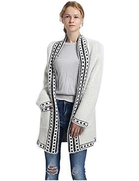 sudadera con capucha de punto suéter con capucha para mujer señora