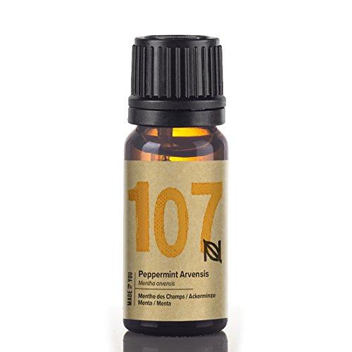 Naissance Olio Essenziale di Menta 10ml - Puro, Naturale, Cruelty Free, Vegan e Non Diluito - Usato in Aromaterapia, Miscele da Massaggio e Diffusori - Aroma Dolce e Fresca