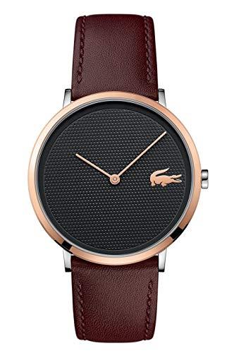 034cd4fd7868 Lacoste Reloj Analógico para Hombre de Cuarzo con Correa en Cuero 2010952