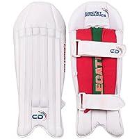 Cricket dinámica Set–Protectores de piernas de críquet, blanco