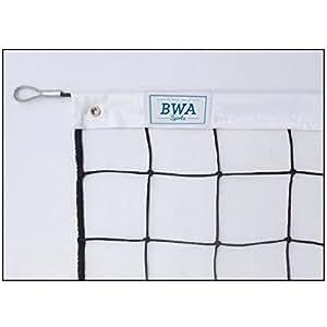 BWA Sports - Filet de volley d'entrainement 3mm tension par cable.