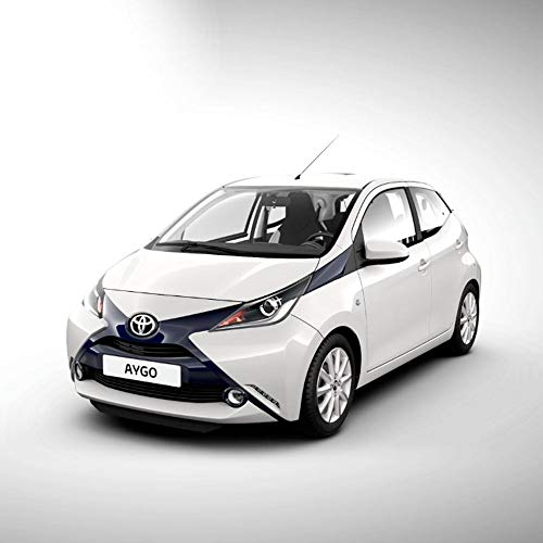 Véritable garde-boue avant pour Toyota Aygo à partir de 2014 - 53008-0H010