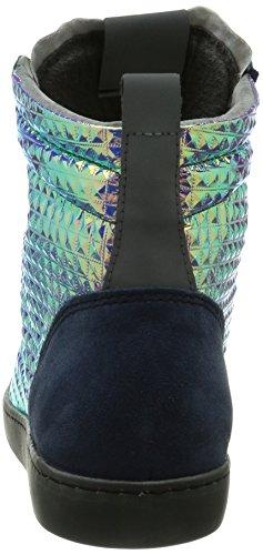 Nat-2 Riri Ii, Baskets hautes femme Multicolore - Mehrfarbig (vanish pyramids)