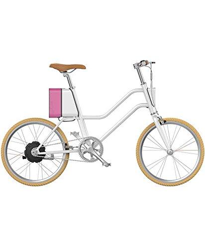 E-Bike YunBike C1 Damen/Unisex, Alu Elektrofahrrad 20 Zoll - Surface604 - Urban Citybike mit Nabenschaltung & Samsung 36V Akku