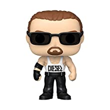 Funko 46845 POP WWE: Diesel w/Chase (Styles may vary) Collectible Toy, Multicolour