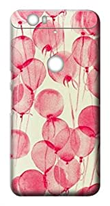 Mott2 Back Case for Google Nexus 6P | Google Nexus 6PBack Cover | Google Nexus 6P Back Case - Printed Designer Hard Plastic Case - pink theme