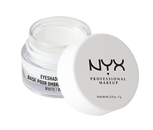 Nyx Professional Makeup Eye Shadow Base, White, 7g