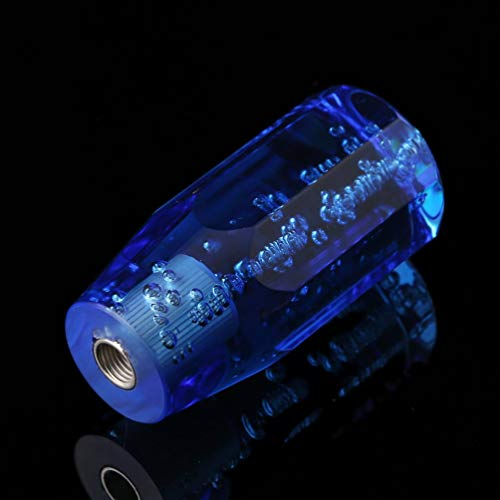 neuer Universal Crystal Bubble Shift Knob ohne LED blau