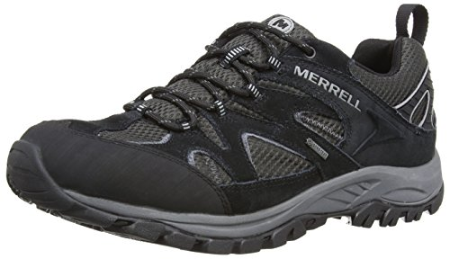 Merrell Sedona Gtx, Chaussures de Randonnée Basses Homme Noir (black/black Carbon)