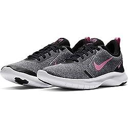 Nike Damen WMNS Flex Experience RN 8 Laufschuhe, Grau (Pure Platinum/Psychic Pink/Black/MTLC Dk Wolf Grey/White 003), 37 1/2 EU
