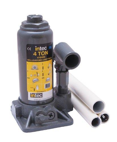 Intec 410400 Sollevatore Idraulico a Bottiglia da 4 TON