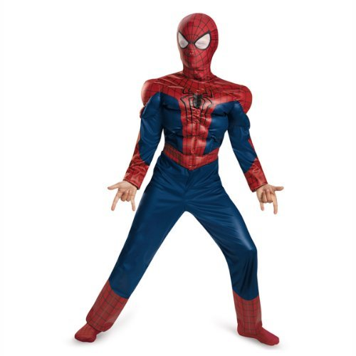 Classic Muscle Kids Costume/size Large (10/12) (Amazing Spider Man 2 Kostüme Für Kinder)