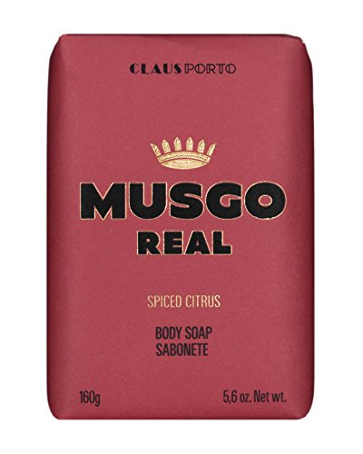 Claus Porto Musgo Real Spiced Citrus Men's Body Soap 160g
