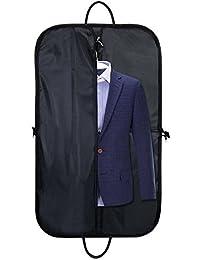 Housses Costumes Voyage Pliable Imperméable Sac Protection Vêtements en Oxford Business pour Transport Chemises Pantalons Hommes Femmes 100 x 60 cm