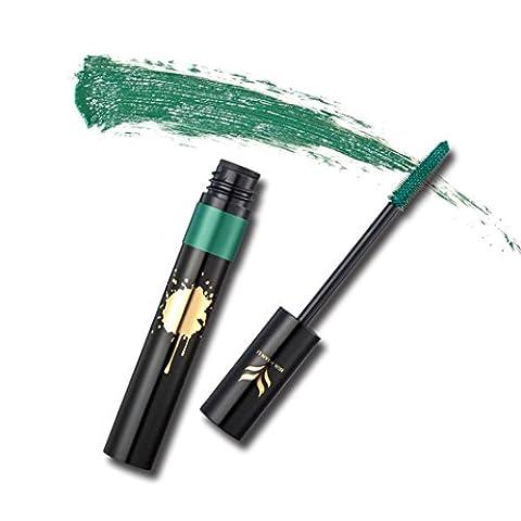 Yogogo 2017 Mascara Volume Waterproof Longue Durée Maquillage Produit de Beauté Vert