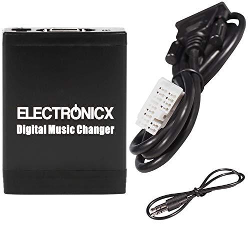 Adaptador de USB,MP3, AUX, SD, CD para Honda 2.4 Accord Civic Jazz FR-V S2000 Fit NSX