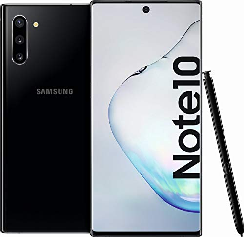 SamsungGalaxy Note 10,Smartphone Double SIM 4G256 Go,6.3 Pouces(16 cm) Double SIMAndroidTM 9.0,16 Mill. Pixel, 12 Mill.