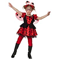 Marienkäfer Käfer Sweet Marie Kinder Karneval Fasching Kostüm 104-128