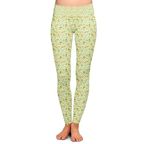 St Patricks Day Yoga Leggings - S
