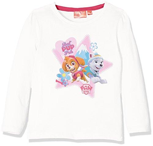 nickelodeon-paw-patrol-teamwork-t-shirt-manches-longues-fille-blanc-white-offwhite-6-ans