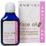 Sensitive Skin Face Oil With Rose, Orange-Blossom, Chamomile, Avocado & Almond - 30ml