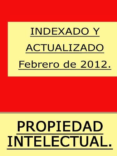 Texto Refundido de la Ley de Propiedad Intelectual con índice (España). por Iustindle