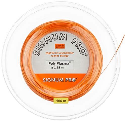 Signum Saitenrolle Poly Plasma, Orange, 100 m, 0255000233000005