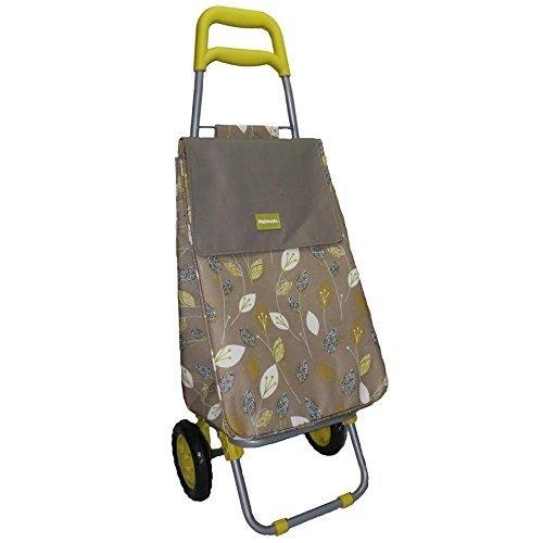 Highlands Einkaufswagen, wärmeisoliert, Zitronengras, zusammenklappbar. Ideal für alle Anlässe und Geschenke
