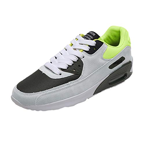 Dasongff Herren Sneaker,Männer Laufschuhe mit Luftpolster,Atmungsaktiv Low-Top Fitnessschuhe Sportschuhe Turnschuhe mit Lace-Up