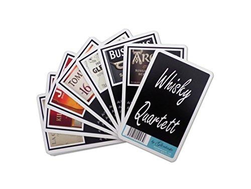Whisky Quartett - Kartenspiel mit Whiskysorten