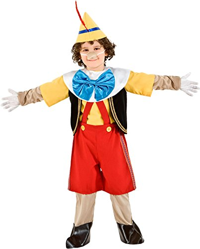 Imagen de disfraz marioneta pinocho vestido fiesta de carnaval fancy dress disfraces halloween cosplay veneziano party 5947 size 1