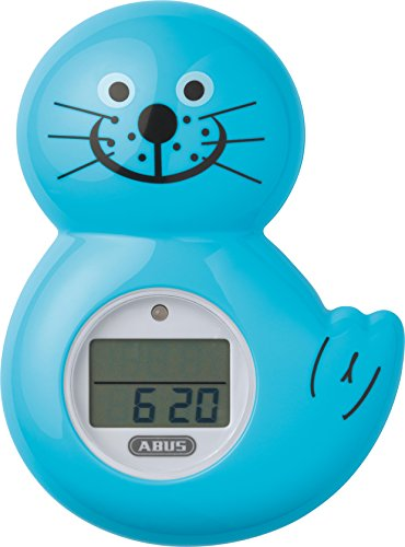 ABUS Junior Care 73157 Badethermometer Robbi JC8720, türkis