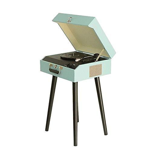 Daxiong Multifonctionnel Phonographe Rétro Salon Tourne Disque Vinyle Vieux Tourne Disque Vieux Tourne Disque Vieux Tourne Disque,A,44 * 35 * 65cm