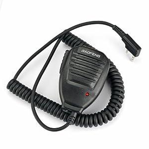 Original portable pour BAOFENG UV - 5R haut-Parleur et micro pour radio double
