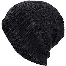 Cebbay Sombrero del Hombre Unisex de la Mujer de la Gorrita Tejida, Sombreros Calientes de