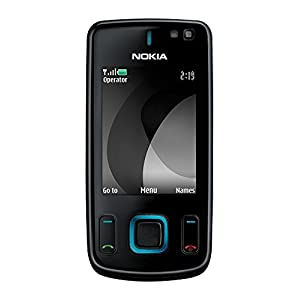 Nokia 6600 Slide - Black (Unlocked) Cellular Phone