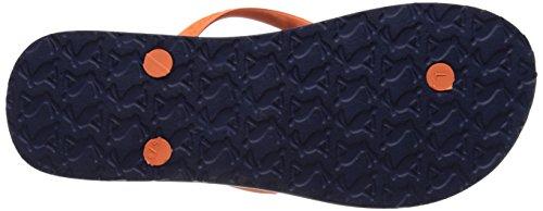 sandy Flop Foco Multicolor Flip Mujer azul Julios U Marino 74wSq6x6A