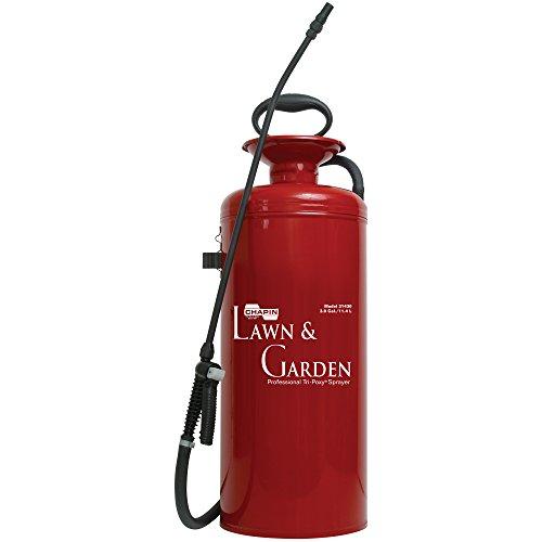 Gallon Poly Tank (Chapin 31430 Rasen- & Gartenreihe aus dreilagigem Stahl für Dünger, Herbizide und Pestizide, 3 Liter (1 Sprayer/Packung))
