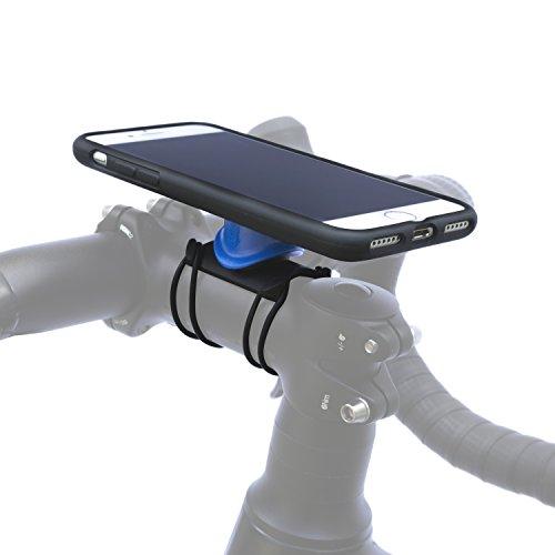 QUAD LOCK Bike Kit-iPhone 7/8 Halterungen, Schwarz, One Size