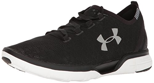Under Armour Charles Coolswitch Ejecutar Uomo Sneaker Nero Negro-blanco-blanco (1285666-001)