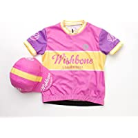 Wishbone 3217 - Los niños camisa bicicleta, talla M, color de rosa