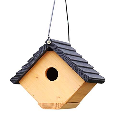 Pajarera Colgante Creativo Al Aire Libre Decoración Choza Bird House Bird Cabin Birdhouse Vintage Minarete...