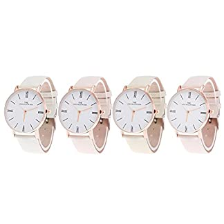 Domybest-Kreative-Damen-Sonnenlicht-UV-Discolor-Quarz-Armbanduhr-PU-Band-Analoge-Uhr