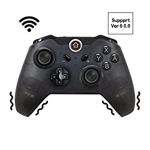 JFUNE Switch Pro Controller, Wireless Gamepad Controller für Nintendo Switch 9.0 (schwarz)